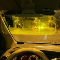 Автомобильные очки день и ночь интенсивный свет зеркало очки Ночное видение вождения козырьки