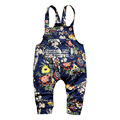 2016 новая Коллекция Весна Прекрасная мода печати 1 шт. детские комбинезоны 0-2 год детские брюки мальчика брюки детские девушка брюки