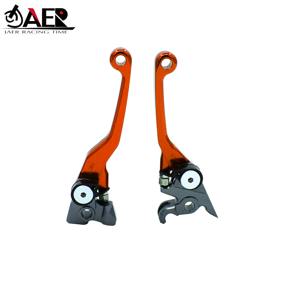 JAER CNC Pivot Foldable Clutch Brake Lever For KTM 65SX 2014 2019 85SX 2013 2014 2015 2016 2017 2018 2019-in Levers, Ropes & Cables from Automobiles & Motorcycles