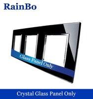 יוקרה משלוח חינם ריינבו משולש זכוכית קריסטל לוח 3 מסגרת 222 מ