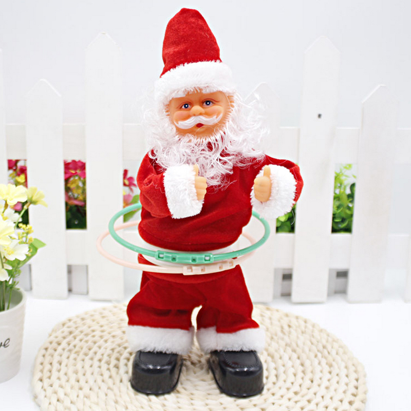 Charming Dancer Christmas Ornaments #1: Electric-Singing-Dancing-doll-Santa-Claus-Hula-Hoop-Dancer-Activated-Toy-for-childrens-christmas-Birthday-gift.jpg