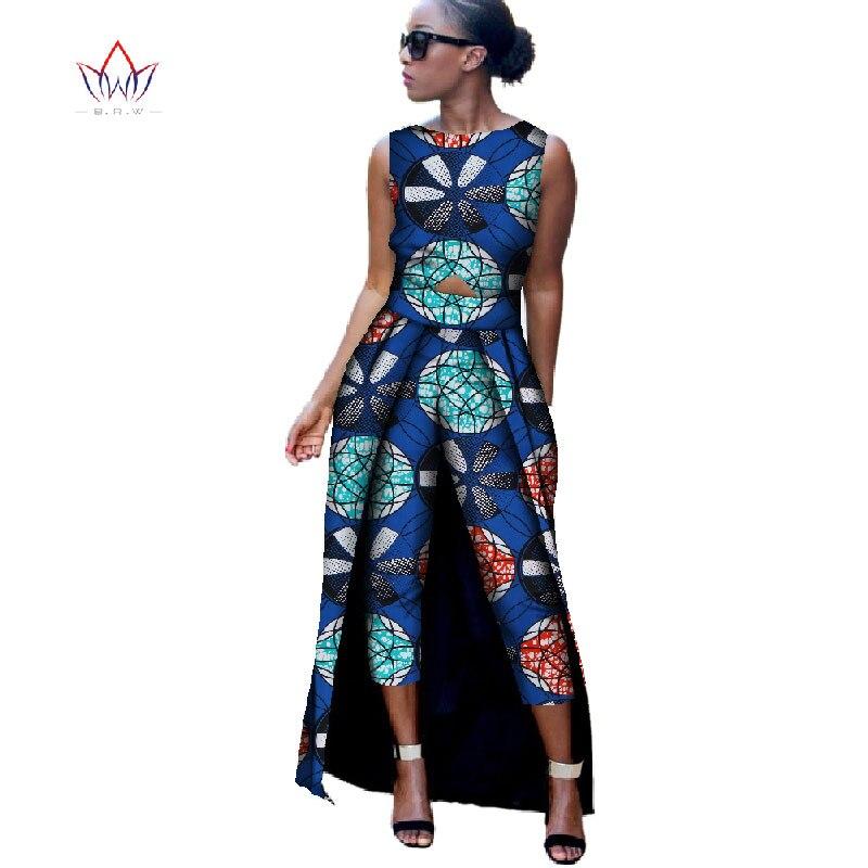 2018 Нова мода Африка Памук Штампа - Женска одећа