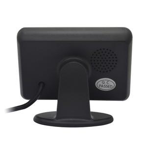 Image 3 - Car Parking blind Sensor Kit With 4 Sensors LCD Display Accessories Voice Reverse Backup Radar  Detector Security Alert System