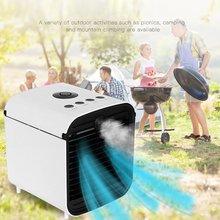 Мини Портативный Кондиционер Без Батареи Многофункциональный Спрей Вентилятор Охлаждения Воздуха Охл