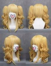 For Cosplay Blonde VOCALOID KASANE TETO Elizabeth Black Butler Wig AAAAAA Free shipping(China)