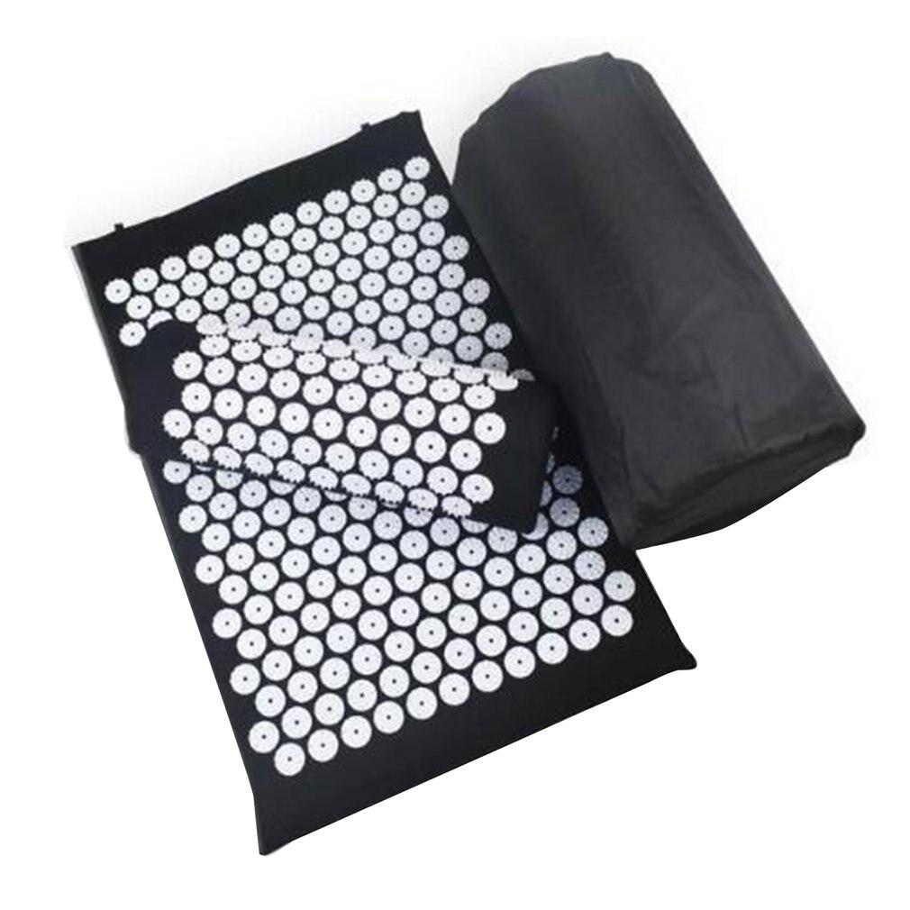 Sport Yoga Spike Acupressure Mat & Pillow Set Portable