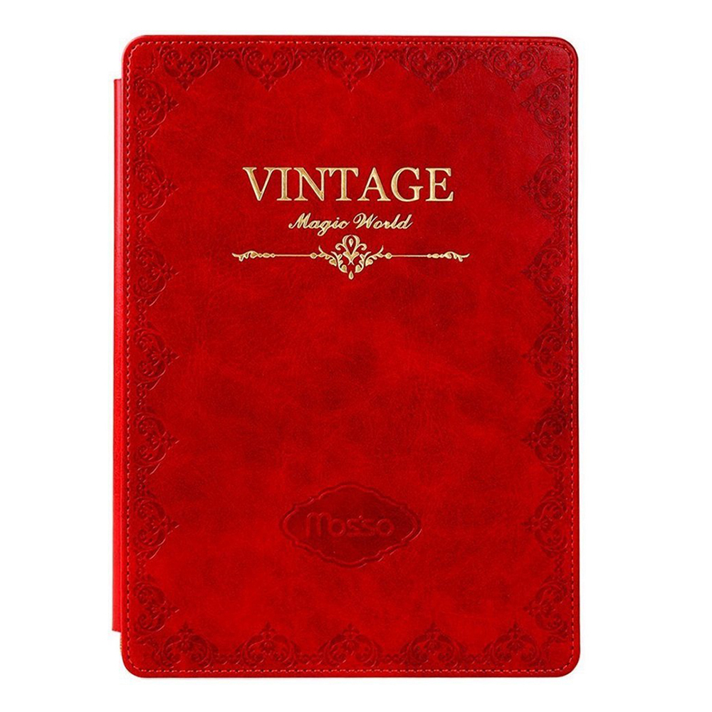 все цены на Mosiso for iPad Pro 9.7 New 2016 Vintage PU Leather Book Case Auto Sleep Wake Protect Smart Cover онлайн
