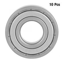 10pcs 17*40*12mm Deep Groove Steel Sealed Ball Bearings Miniature Bearing 6203-ZZ bearing Steel Pillow Block Mounted Support Hot