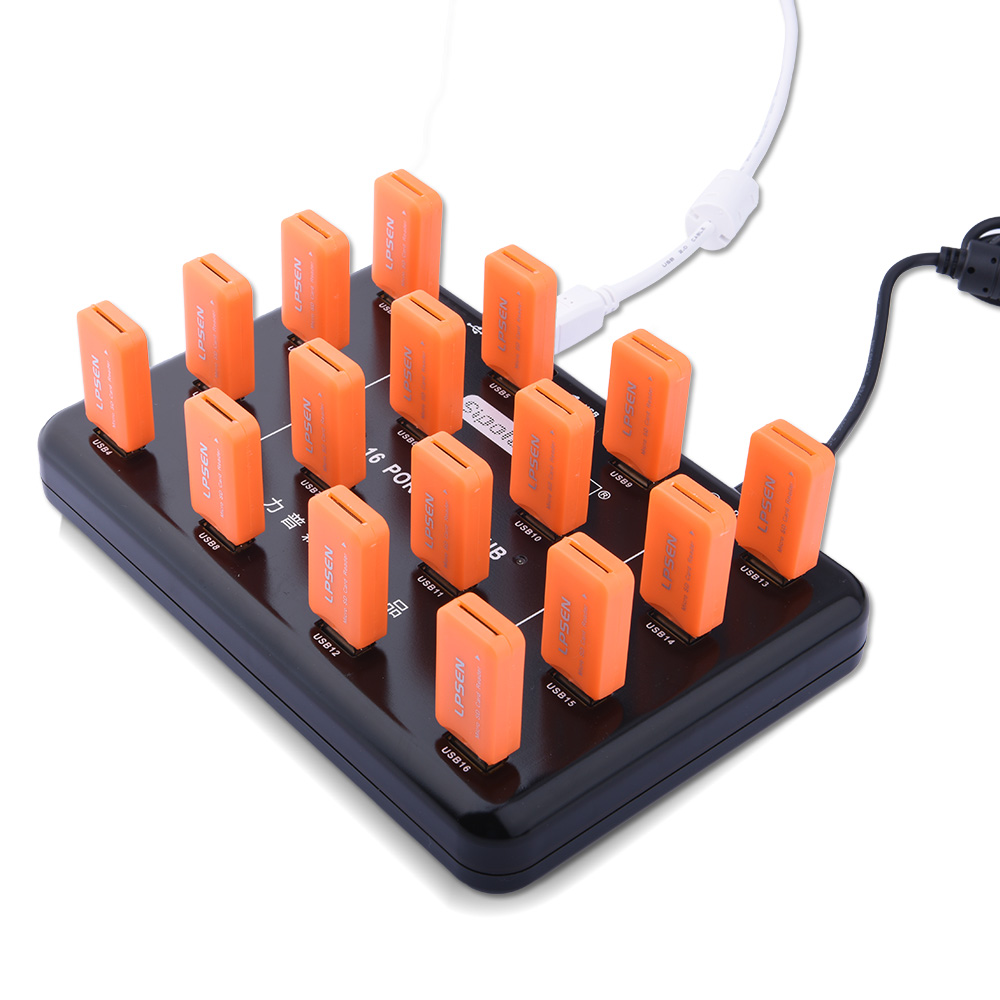 Hot!!! Multi portas de nível industrial 16 portas usb 2.0 hub para download  em massa 0cbc5fef5e