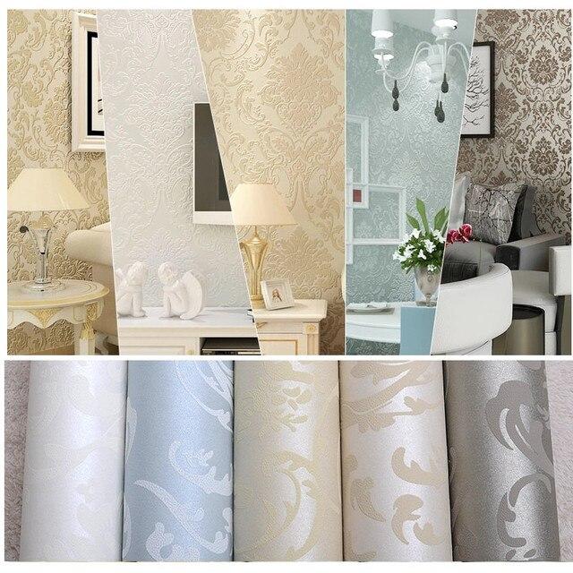 Vlies europäischen glänzend stilvolle blau beige weiß moderne ...