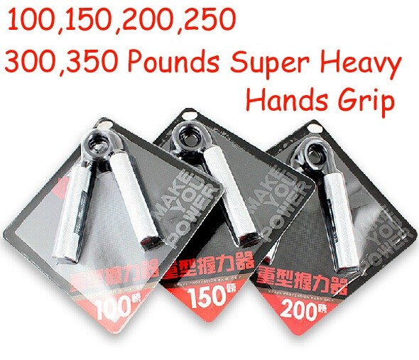 100 150 200 250 300 350 paun lelaki bina badan berat Jenis tangan Grip gripper Device home gym Strength hands gripping