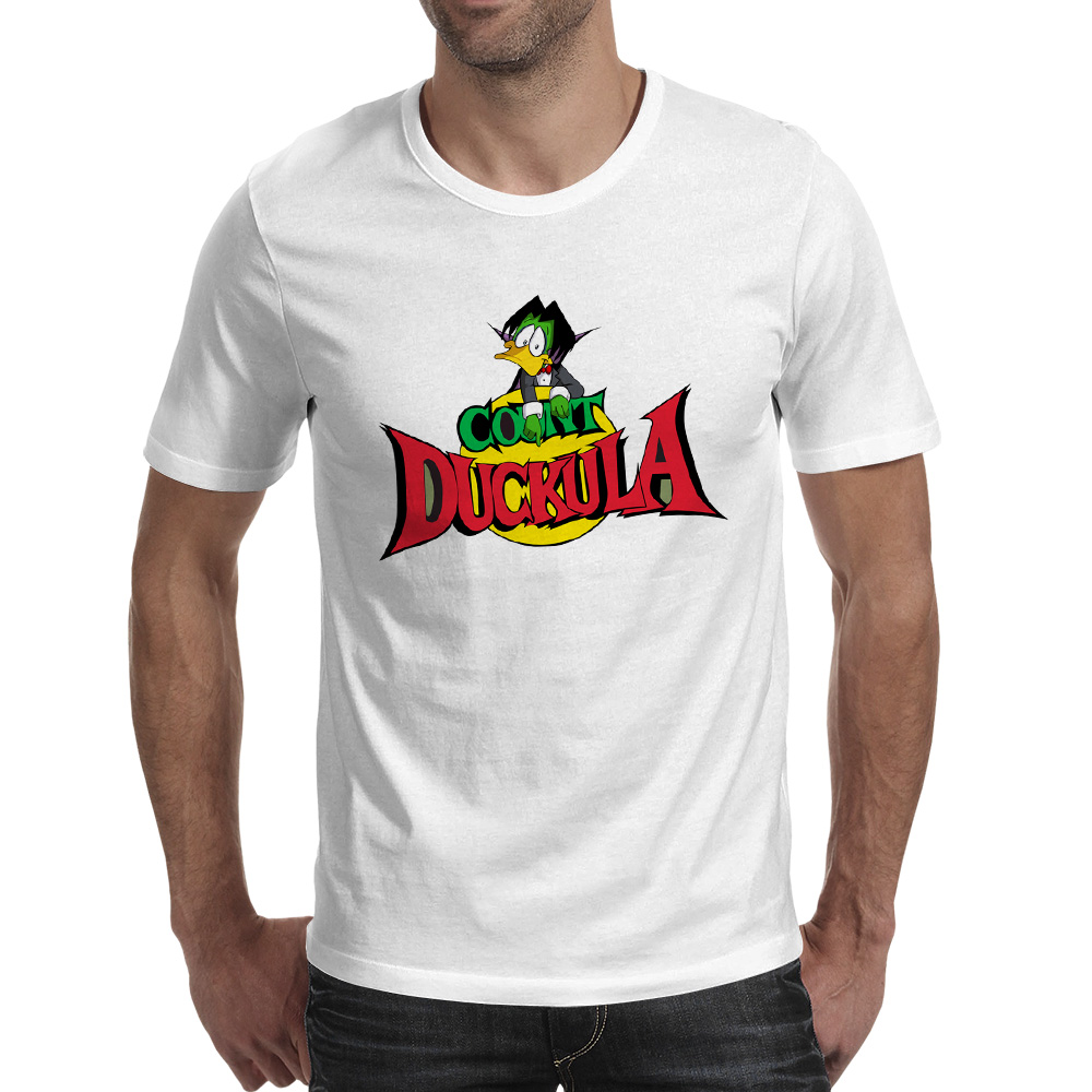 I Am Count Duckula T-shirt Rock Creative Hip Hop T Shirt Brand Fashion Design Women Men Top