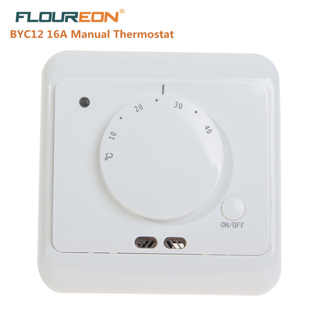 Floureon Byc12 16a Manuelle Thermostat Universelle Raum Heizung