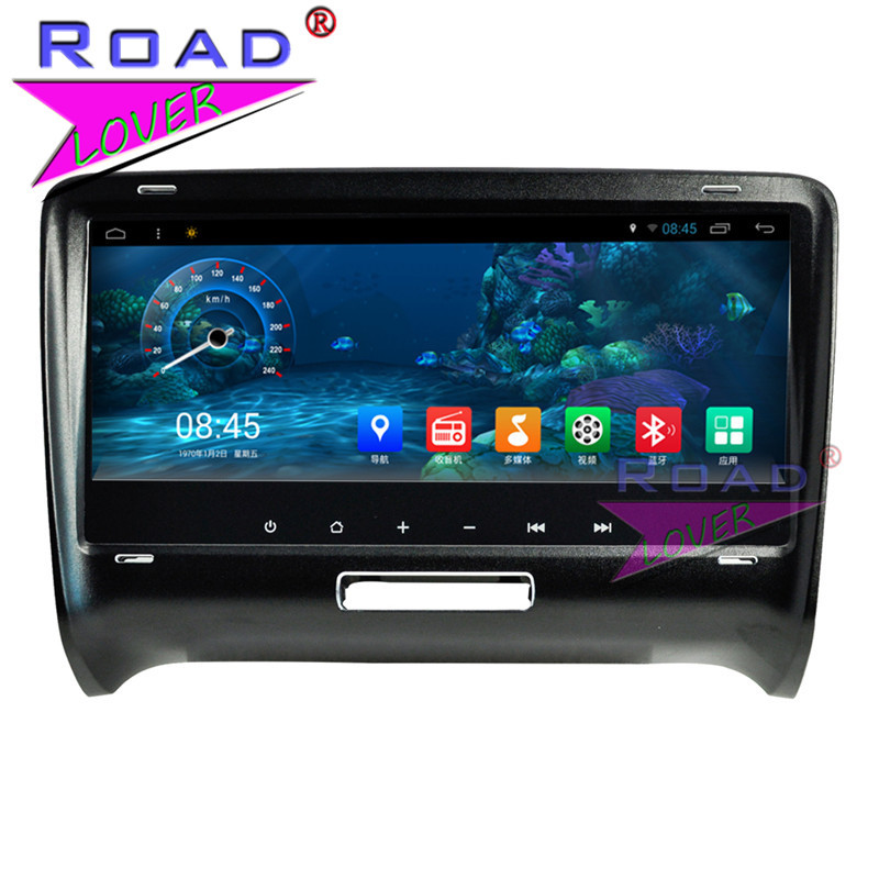 Roadlover 8.8 Android 7.1 Car GPS Navigation For Audi TT 2006 2007 2008 2009 2010 2011 2012 2013 2014 Stereo Video 2 Din NO DVD
