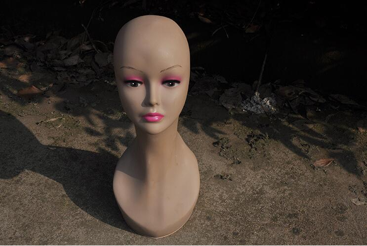 freeshipping! women mannequin head,hair wig head hat,mannequin heads for sale display, headphones Suitable,mannequin male B259