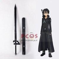 Sword Art Online Kirito Kirigaya Kazuto Cosplay Sword Weapon Black version Prop mp000997