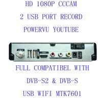 HD A800 Free Shipping Set Top Box Satellite Receiver DVB S2 1080P HD Satellite TV Decoder