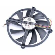 Original PLA09215D12M 12 V 0.35A HD5850/5870/5830 placa gráfica ventilador de refrigeração