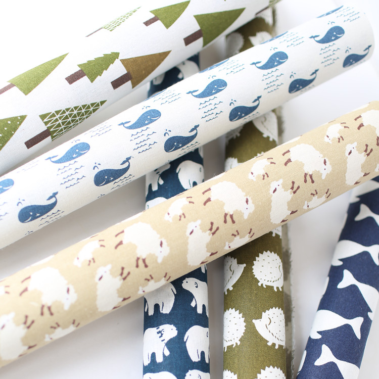 Tela de lino a prueba de agua para manteles patchwork patrones de ...