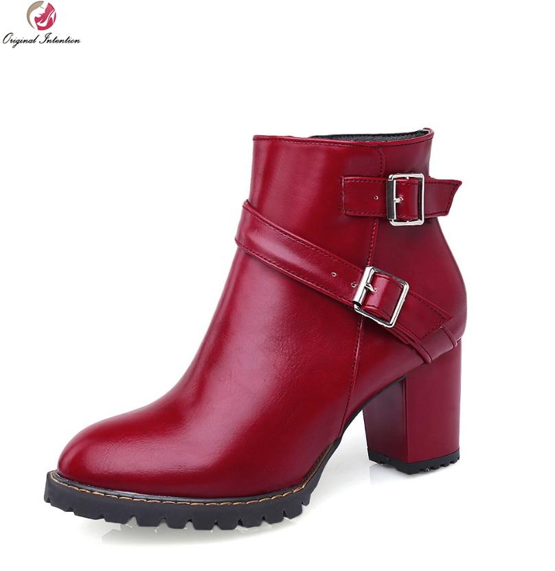 Dedo t60522 Originales Intención Rojo Botines t60523 Zapatos Amarillo 4 Hermoso Mujer Redonda Pie Cuadrado Del T60521 Tamaño 5 Negro Mujeres Tacones 10 Elegantes r4F41Xq