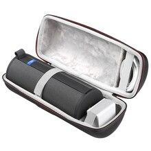 Più nuovo Caso Duro di EVA Viaggio di Trasporto Della Copertura di Caso per Ultimate Ears UE MEGABOOM 3 Bluetooth Speaker Proteggere Borsette Borsa A Tracolla Borsa