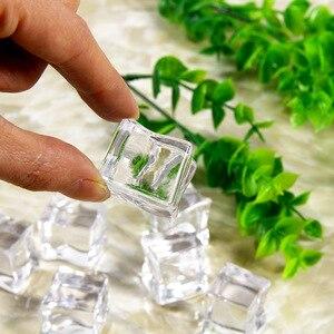 Image 5 - Kolorowe nieregularne sztuczny lód fałszywe kryształowe granulki fotografia Studio akcesoria Ornament dla owoców piwo Whisky napoje sodowe