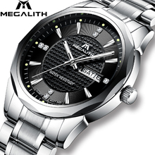 Relogio Masculino MEGALITH Mens Watches Top Brand Luxury