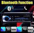 Nueva Radio de Coche bluetooth Reproductor de MP3 FM/USB/un tamaño Din/control remoto/USB de tarjetas SD puerto 12 V Car Audio Steoro 5 V cargador del teléfono móvil