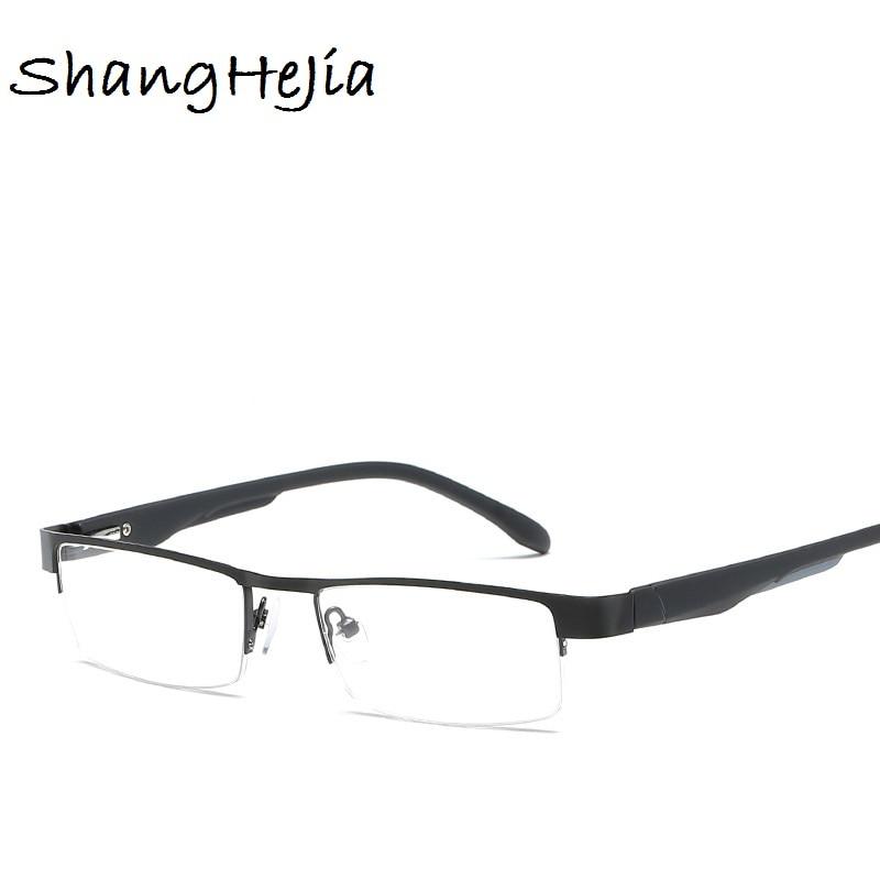 2019 Männer Titan Legierung Lesebrille Nicht Sphärische 12 Schicht Beschichtet Linsen Retro Business Hyperopie Brillen