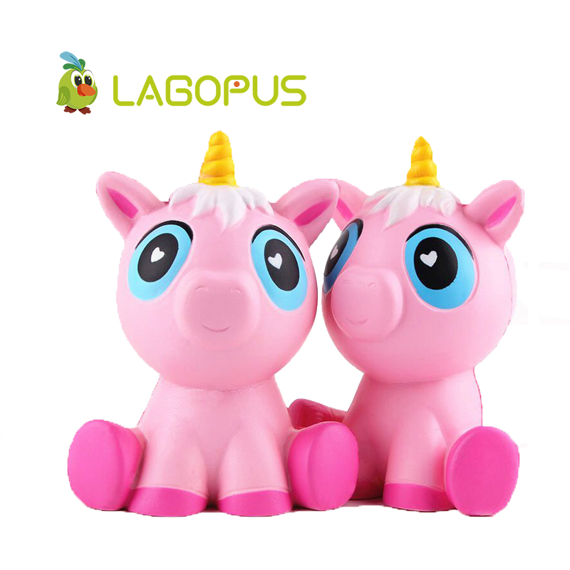 lagopus Squishy Slow Rising Kawaii Unicorn Toys For Kids Jumbo Soft Animal Squeeze Toy Cheap