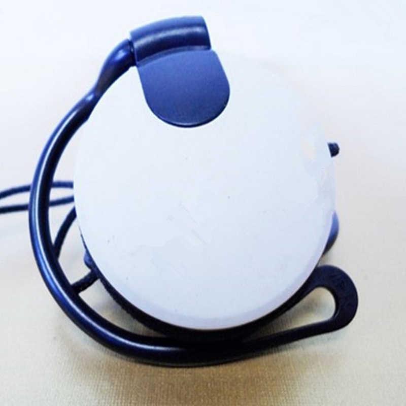 スポーツヘッドフォン 3.5 ミリメートルヘッドセット耳フック低音イヤホンとマイクのための女の子キッズ大人のための電話