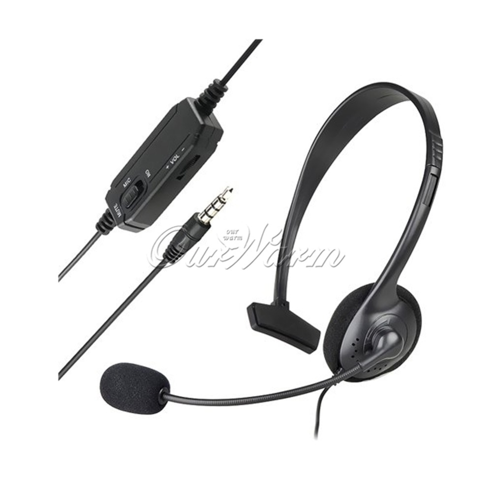 Sony Ps4 Wired Mono Headset Wire Center Preamp With Equalization Circuit Diagram Tradeoficcom Gaming Microphone Black For Playstation Rh Aliexpress Com Controller Charger