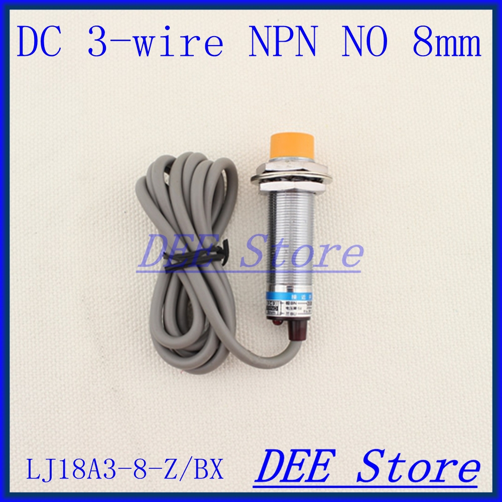 3-wire Inductive Proximity Sensor NPN NO DC6-36V Detection Distance 8MM Proximity Switch diameter 18mm LJ18A3-8-Z/BX ep4ce15e22c8 or ep4ce15e22c8n