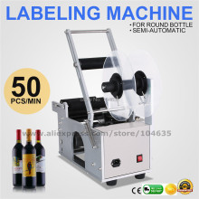 цены 100% Warranty Stainless Steel Semi-automatic Round Bottle Labeling Machine Labeler MT-50,Packaging Machine Label Equipment