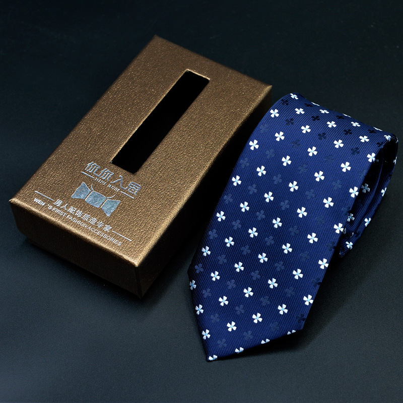 NiniRusi Luxury Silk Men Tie With Gift Box Jacquard Woven Tie Neckties Set For Men Wedding Party in Men 39 s Ties amp Handkerchiefs from Apparel Accessories