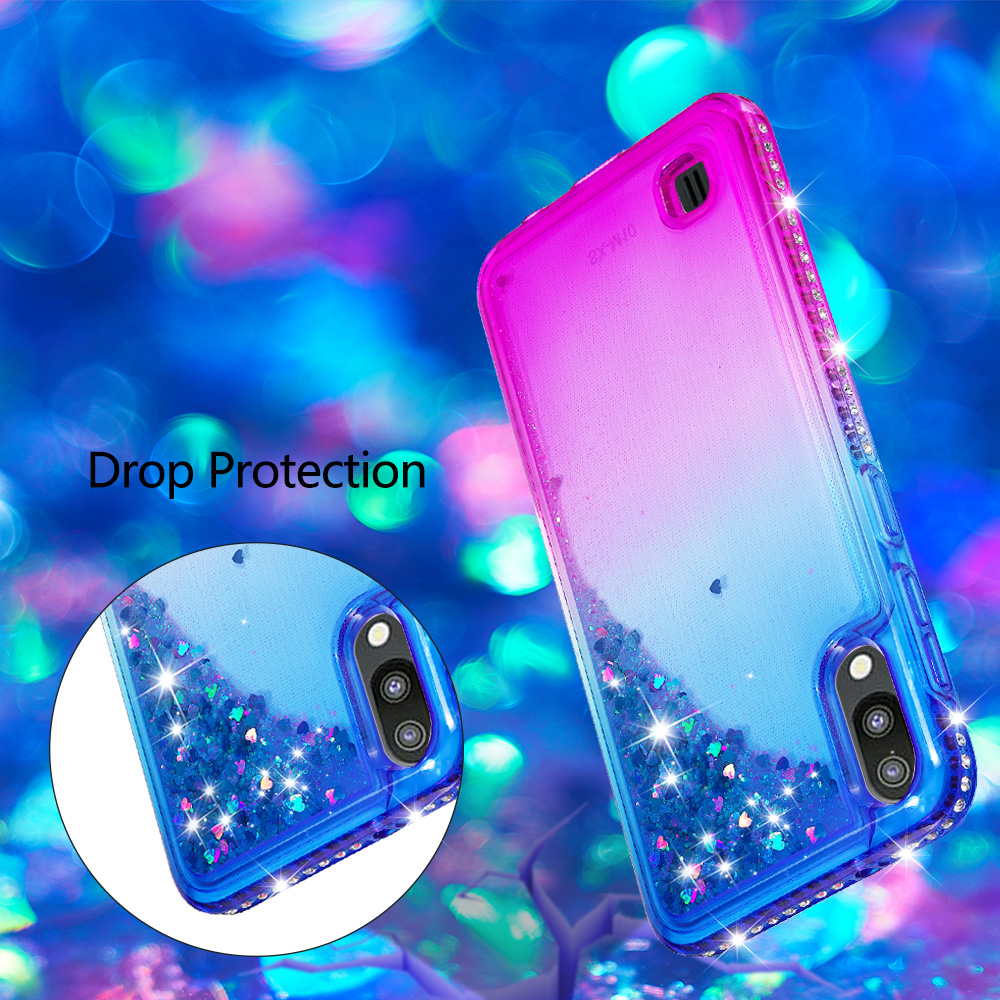 M10 & M20 2019 New Glittering Diamonds Quicksand Soft TPU Cases for samsung galaxy m10 & m20  Mobile Phone Cover