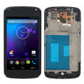 "4.5"" For LG Google Nexus 4 E960 LCD Display Touch Screen with Digitizer + Frame Assembly + Adhesive + Open Tools , Free shipping"