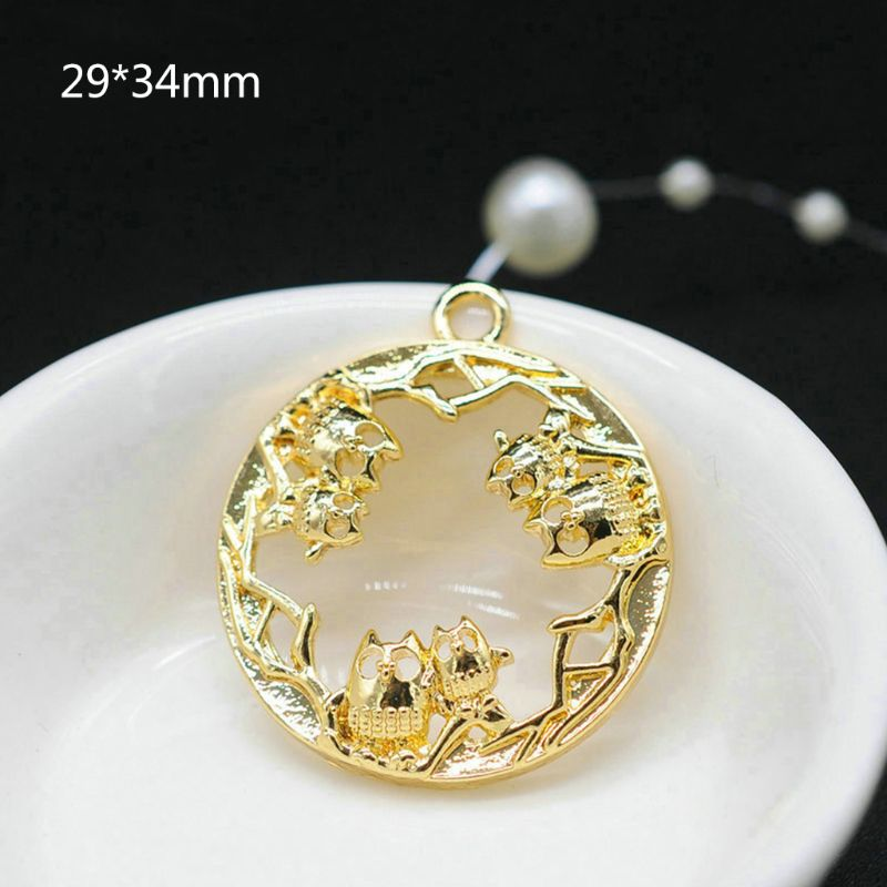 Metal Frame DIY Epoxy Resin UV Crystal Silicone Molds Accessories Floral Animals Jewelry Pendant Necklace Making Craft