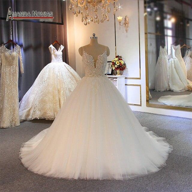 Sexy Bride dress customer order wedding dress simple beach wedding dress