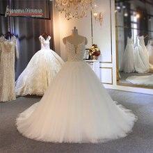 Sexy Bruid jurk klant order trouwjurk eenvoudige strand trouwjurk
