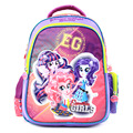 2017 new children cartoon my little pony schoolbag girl lovely backpack schoolbag For children children Christmas gift bags1000