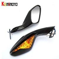 KEMiMOTO E-mark Aynalar ile MV Agusta Için Sinyal Işık Açın F3 sonra 675 800 2012 2013 2014 2015 motosiklet parçaları pazar