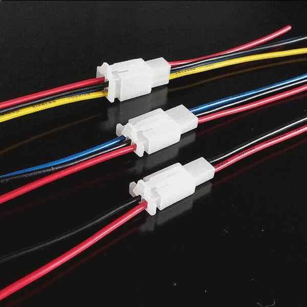 2.8 Mm Otomotif Kawat Konektor Pria Wanita 2.8 Kabel Terminal Plug Kit Motor Ebike Mobil