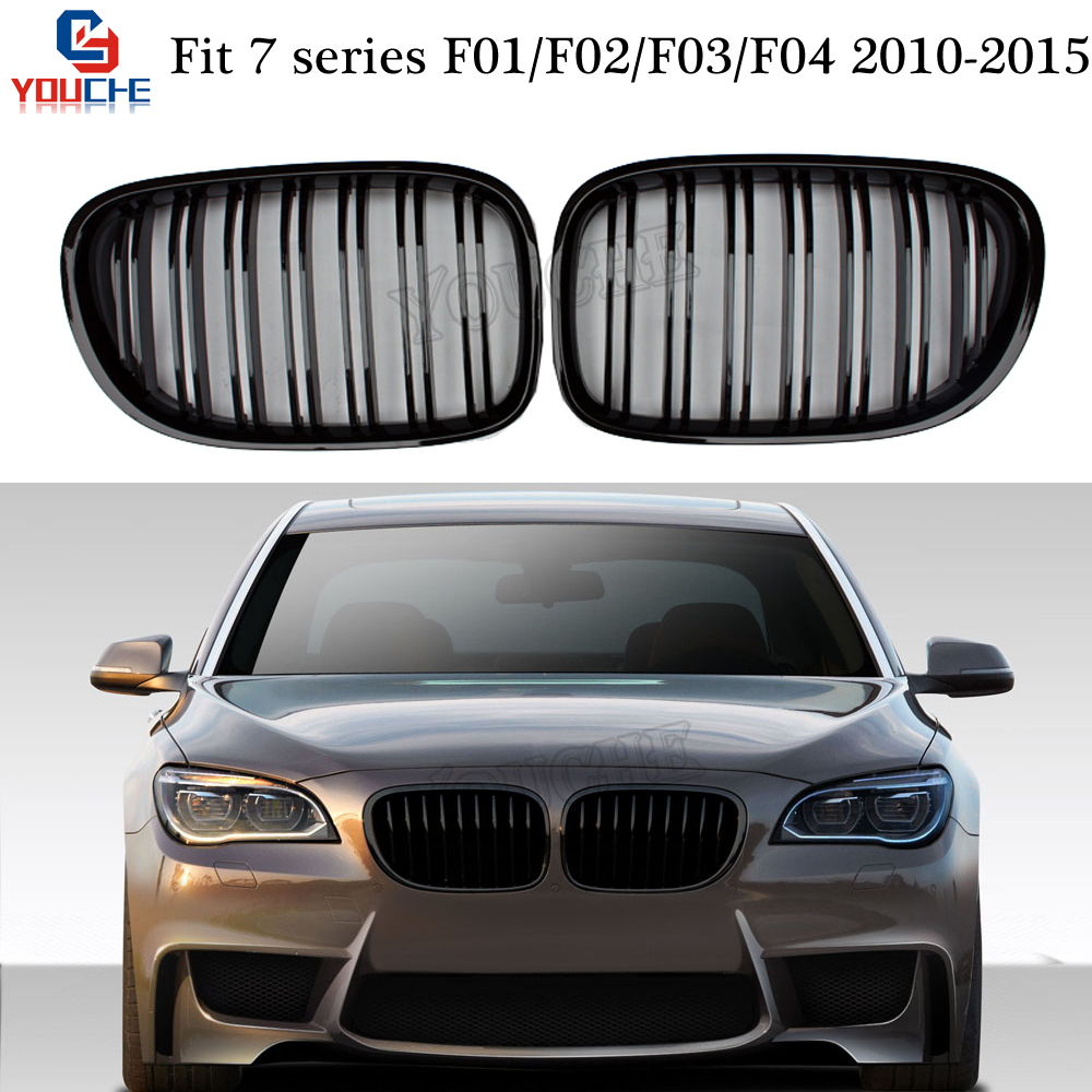 Front Lower Foglight Holder Cover For 13-15 BMW F01//F02 740Li 740i Right Black