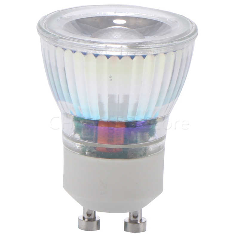 LED GU10 COB mini GU10 MR11 5W 220V 35mm dimmable Warm White/Cold white MR11 220V 12V Spot Light Bulb Lamp replace halogen lamp