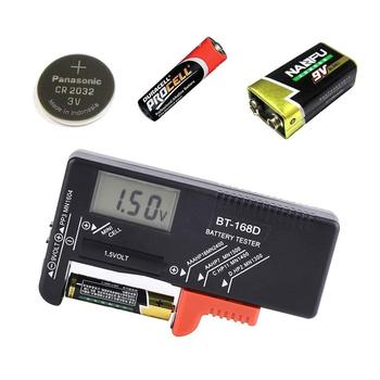 BT168D цифровой тестер емкости батареи ЖК-BT-168D проверка для 9 в 1,5 в AA AAA ячейки C D батареи