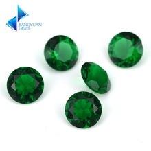 Размер 1 ~ 15 мм светло зеленый цвет круглая форма вырезанная