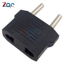 5 шт. Высокое качество США в Европейский евро ЕС зарядное устройство адаптер штепсельная розетка конвертер адаптер