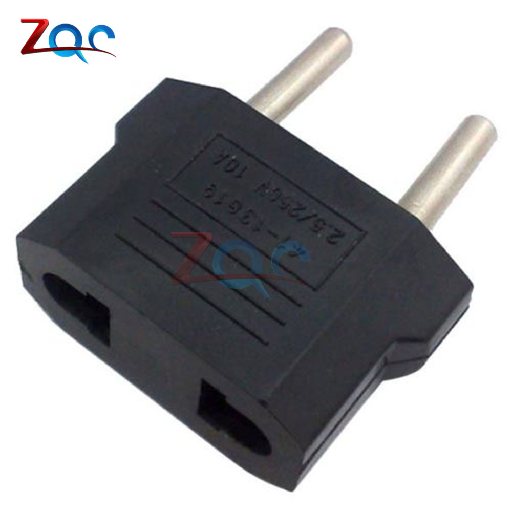 5pcs High Quality US USA to European Euro EU Travel Charger Adapter Plug Outlet Converter Adapter