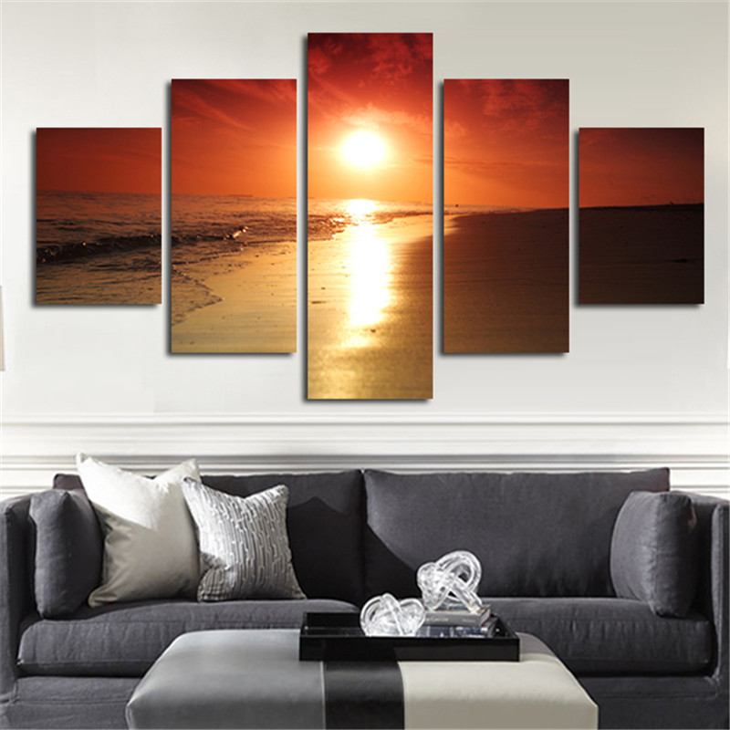 Beach Art Canvas Promotion Shop For Promotional Beach Art